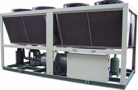 180HP风冷型螺杆冷水机组